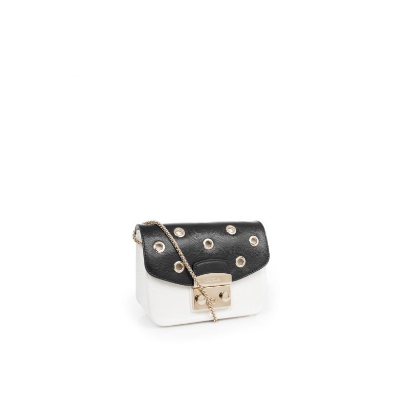 Metropolis Mini flap for the bag Furla black