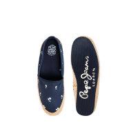 Sail Palm espadrilles Pepe Jeans London navy blue