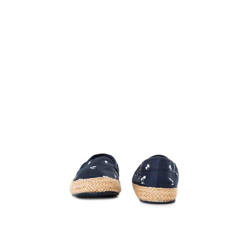 Espadryle Sail Palm Pepe Jeans London granatowy