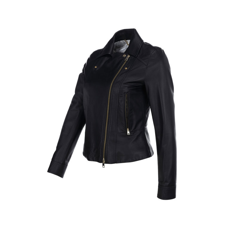 Feltro leather jacket Marella SPORT black