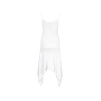 Boine dress + slip Pinko white