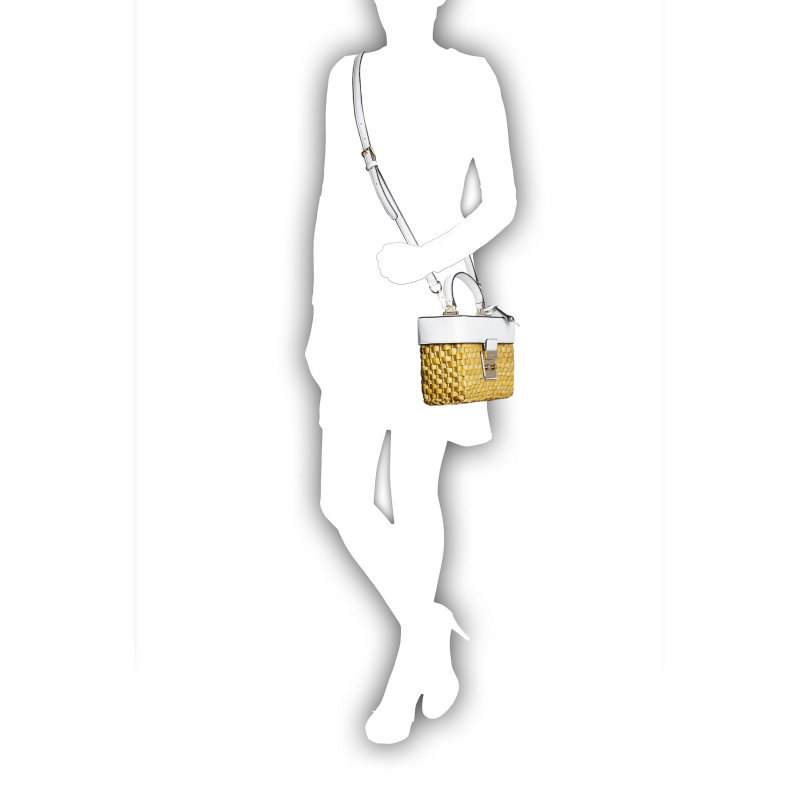 Kuferek Gabriella Michael Kors biały