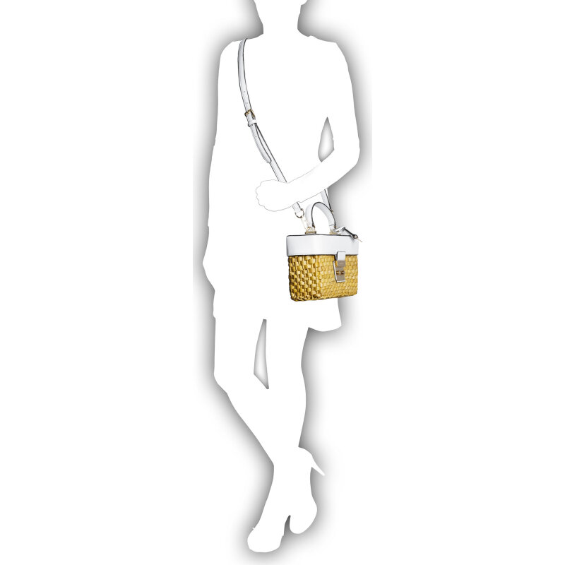 Gabriella satchel Michael Kors white