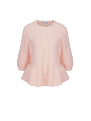 Red Valentino Wełniany sweter