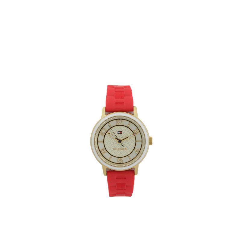 Zegarek Tommy Hilfiger czerwony