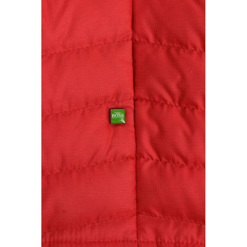Bezrękawnik Vakobo Boss Green czerwony