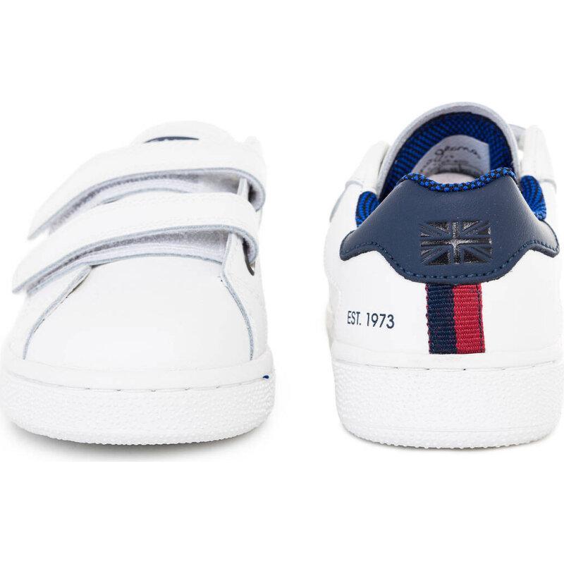 Sneakersy Lane Velcro Pepe Jeans London biały