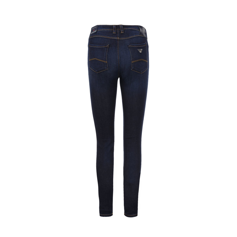 Jeansy J28 Orchid Armani Jeans granatowy