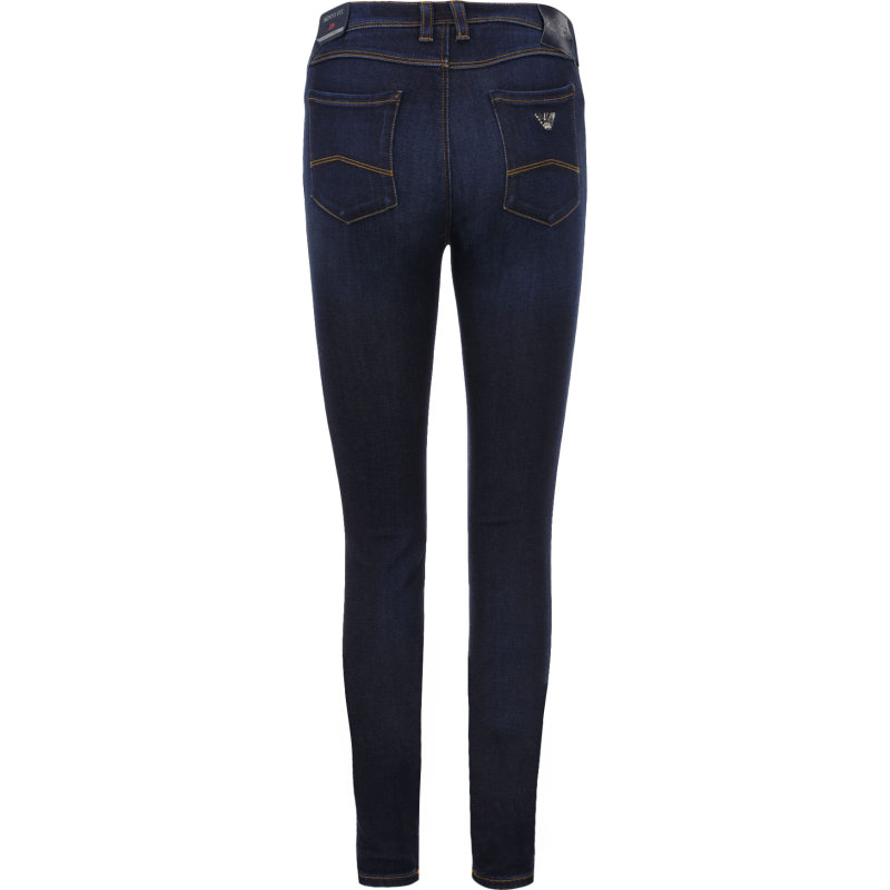 Jeansy J28 Armani Jeans granatowy