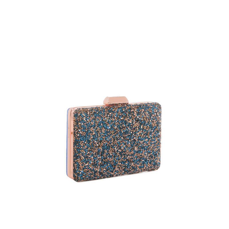 Rettangolare evening bag Liu Jo blue