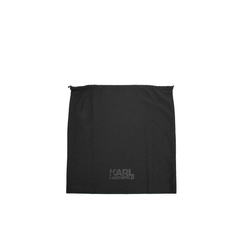 Pasek Lagerfeld czarny