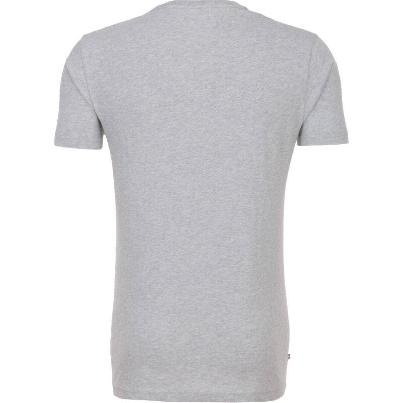 T-shirt THDM Basic VN Knit Hilfiger Denim szary