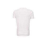 T-shirt EA7 kremowy