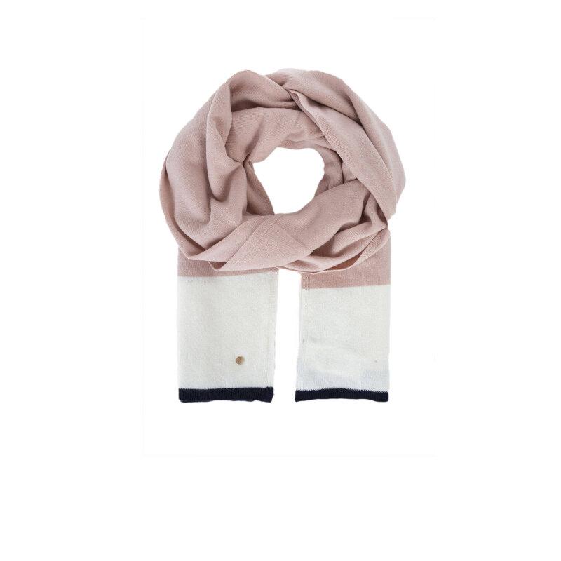Szal Armani Jeans pudrowy róż