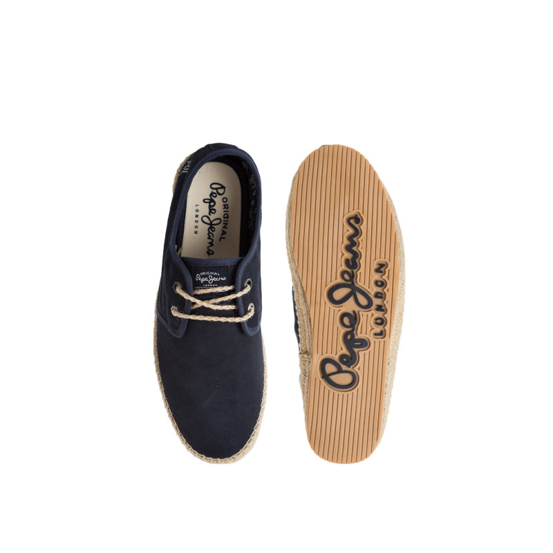Espadryle Tourist Basic 2 Pepe Jeans London granatowy