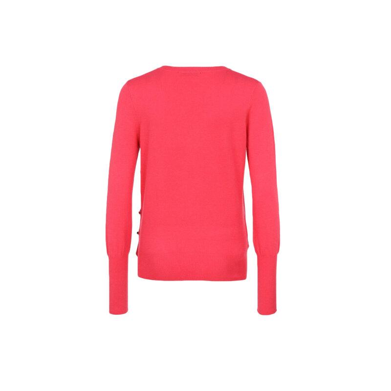 Sweter Liu Jo Jeans malinowy