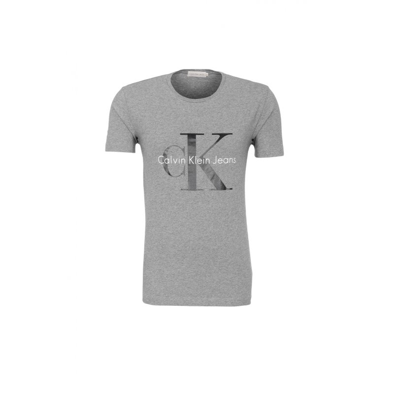 T-shirt Mid Calvin Klein Jeans szary