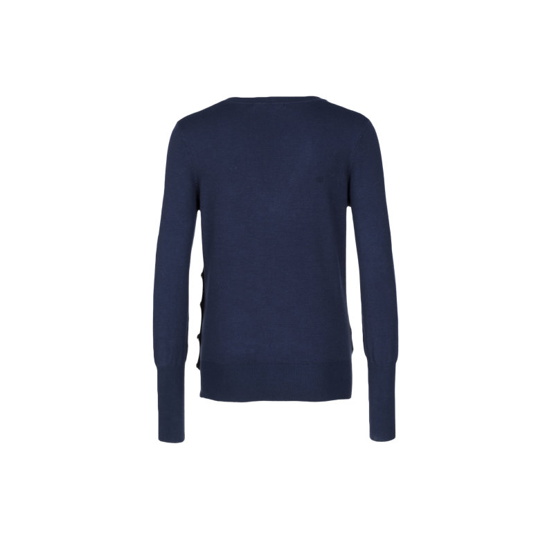 Sweter Liu Jo Jeans granatowy