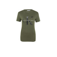 T-shirt Calvin Klein Jeans khaki