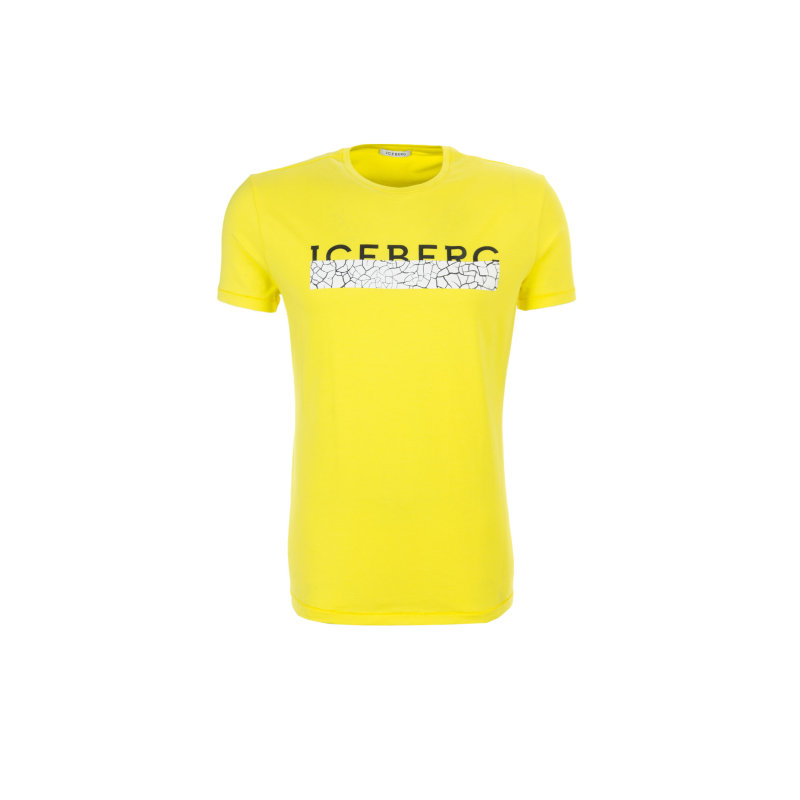 T-shirt Iceberg yellow