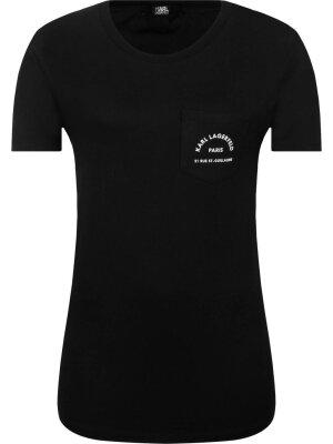 Karl Lagerfeld T-shirt Logo Pocket   Regular Fit