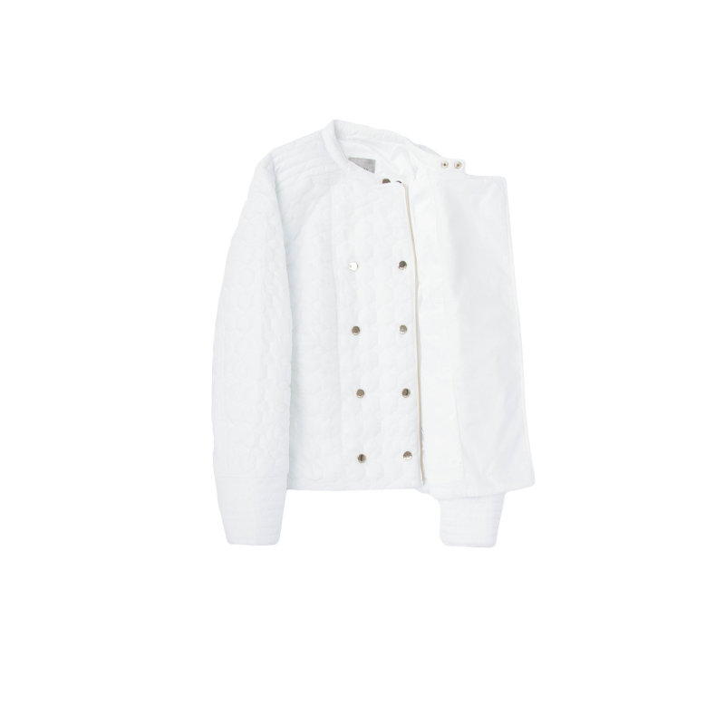 Kurtka Regina Guess Jeans biały