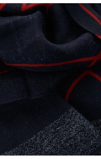 Szal Armani Jeans granatowy