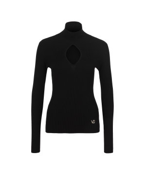 Versace Jeans Polo neck jumper