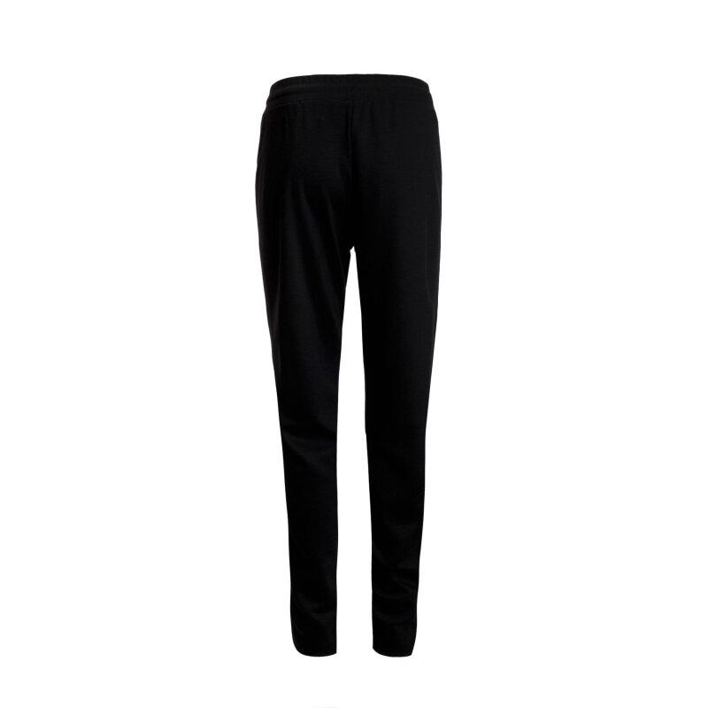 Spodnie dresowe Banda Weekend Max Mara czarny