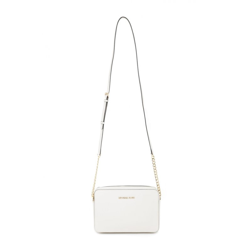 Jet Set Travel Messenger bag Michael Kors cream
