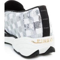 Sneakersy Sequins Pinko srebrny