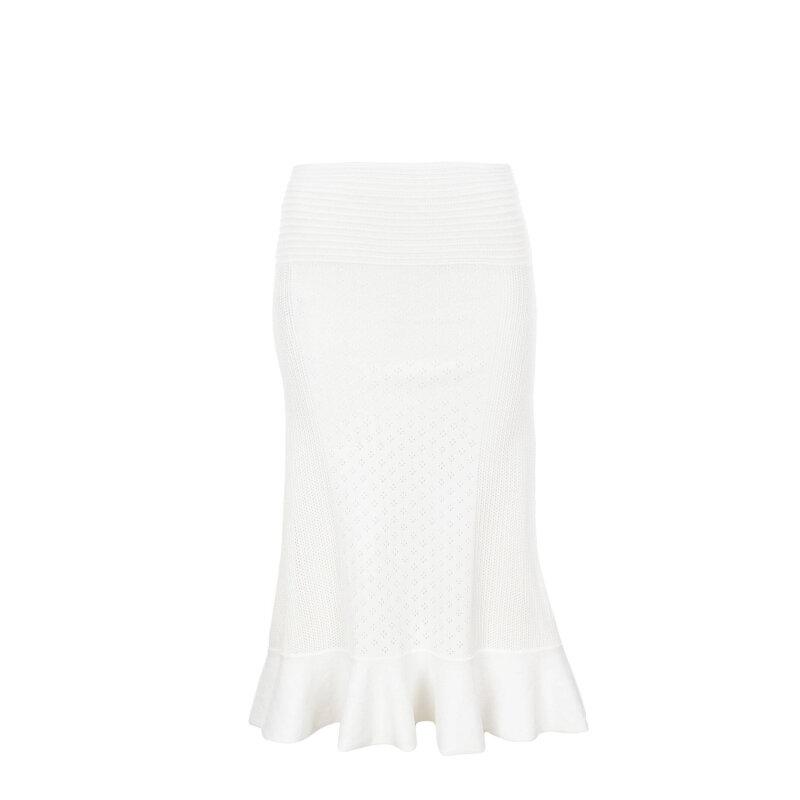 Spódnica Caprera Pinko kremowy