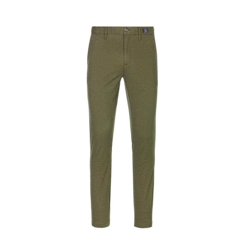 Spodnie Bleecker Chino Tommy Hilfiger zielony