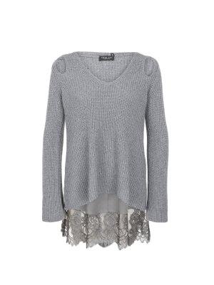 Twinset Sweter + bluzka