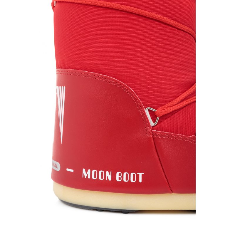 Nylon Moonboots Moon Boot red