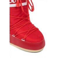 Śniegowce Nylon Moon Boot czerwony