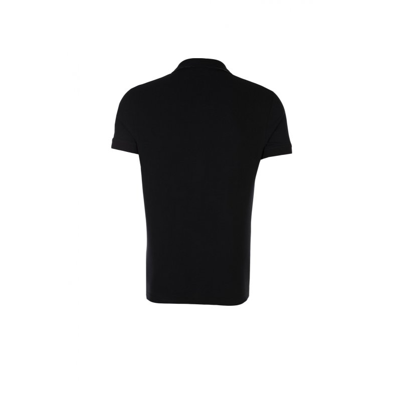 Contrast Collar Rugger Polo Gant black