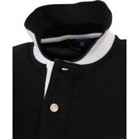 Contrast Collar Rugger Polo Gant black