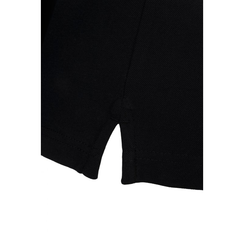 Polo Contrast Collar Rugger Gant czarny