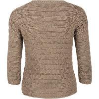 Sweter Silvetta Hugo brązowy