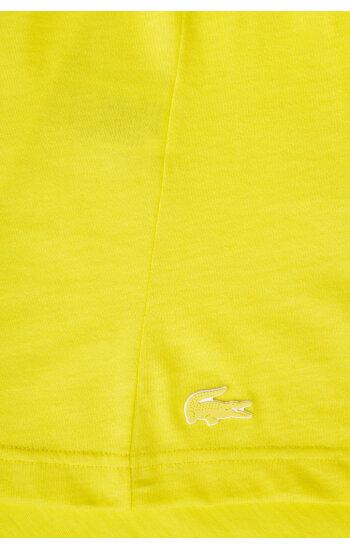 T-shirt Lacoste żółty