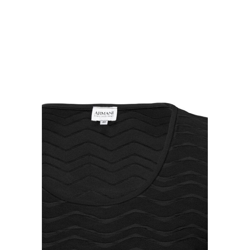 Bluzka Armani Collezioni czarny