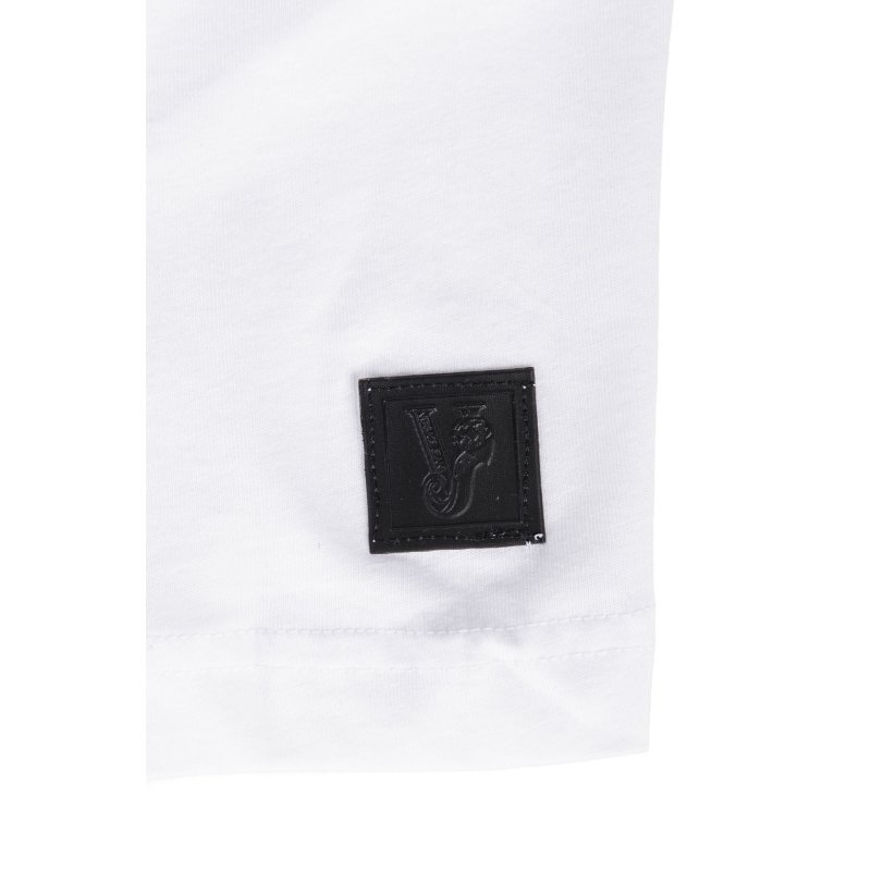 T-shirt Versace Jeans biały
