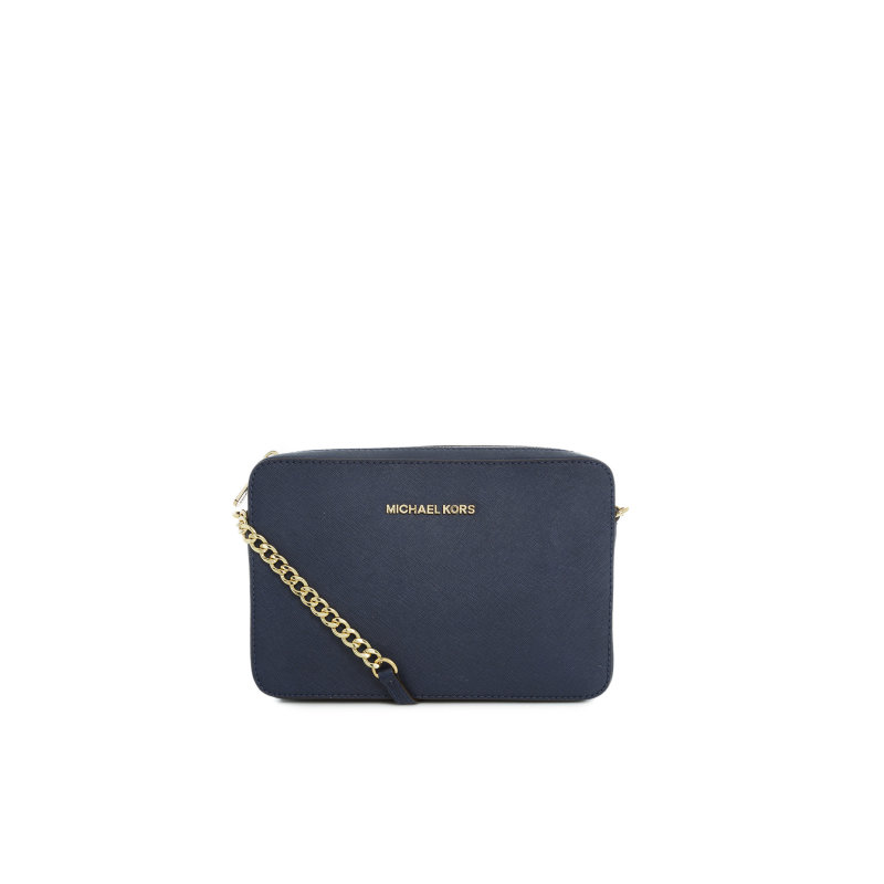 Jet Set Travel messenger bag Michael Kors navy blue