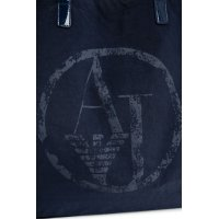 Shopper bag Armani Jeans navy blue