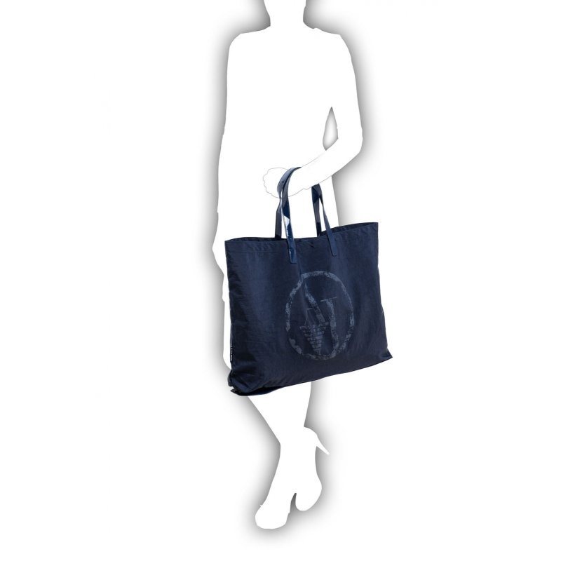 Shopperka Armani Jeans granatowy