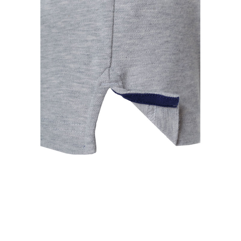 Polo Contrast Collar Rugger Gant szary
