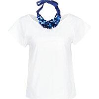 Polka blouse Marella SPORT white