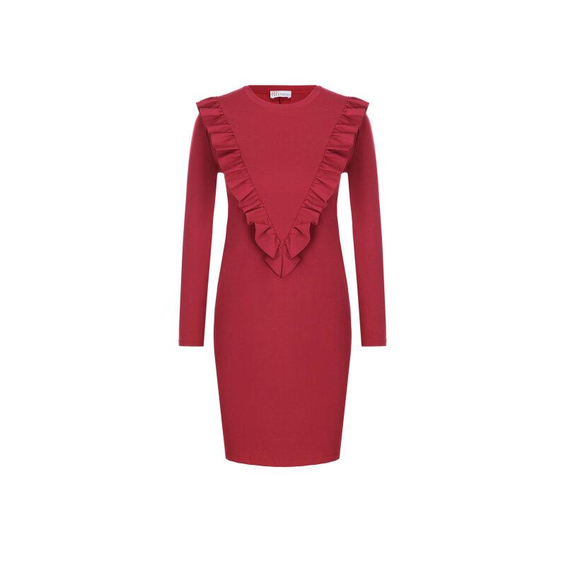 Sukienka Red Valentino malinowy