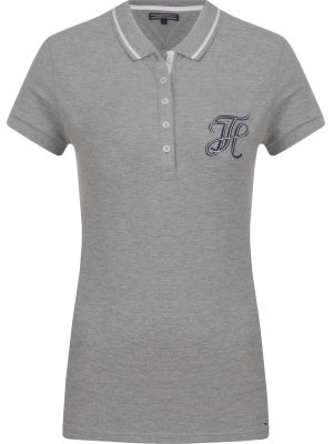 Tommy Hilfiger Polo New Chiara | Slim Fit | pique